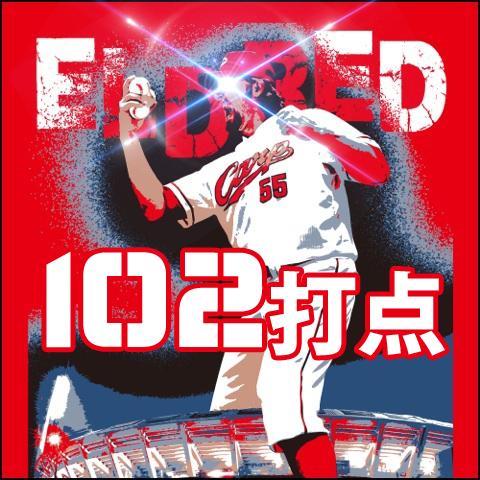 102打点Tシャツ