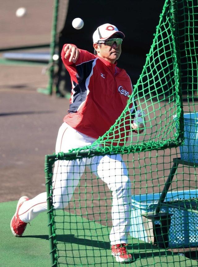 石井琢朗打撃投手