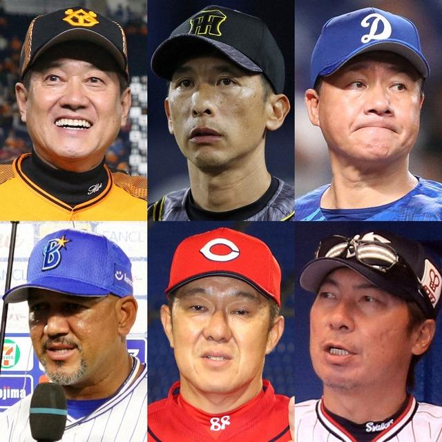 【週ベ】12球団監督採点