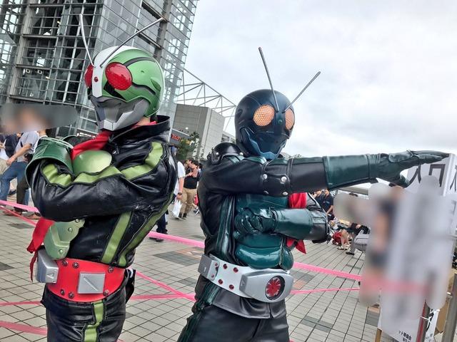 コスプレC92仮面ライダー2