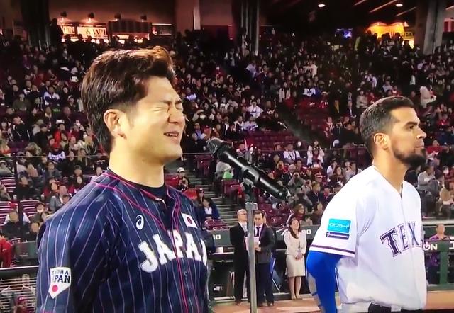 日米野球侍ジャパン岡田明丈選手宣誓