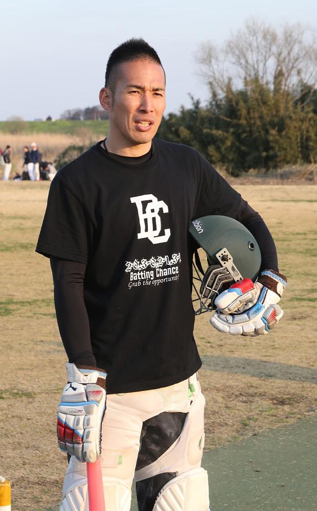 木村昇吾クリケット日本代表