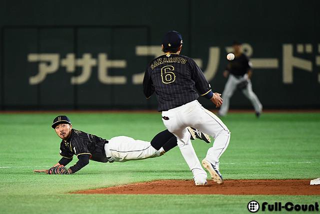 侍ジャパン菊池涼介ファインプレー (1)