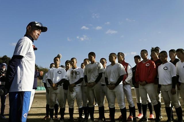 カープドラ4小林樹斗がイチローと直接対決!智辯和歌山 野球部で指導受ける
