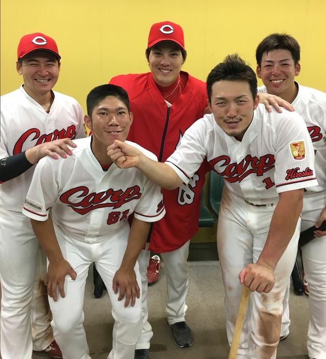 鈴木誠也首位打者確定