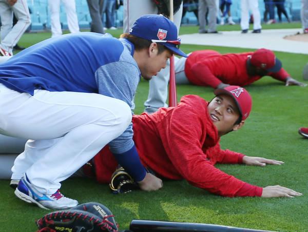 前田健太大谷翔平MLB