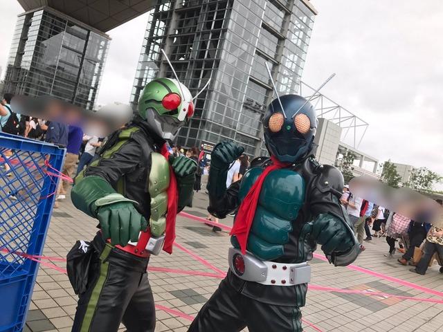コスプレC92仮面ライダー
