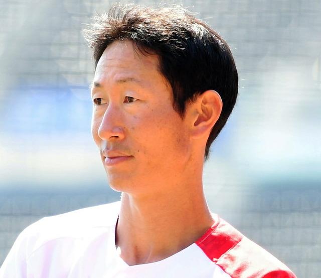 カープ赤松引退試合途中出場
