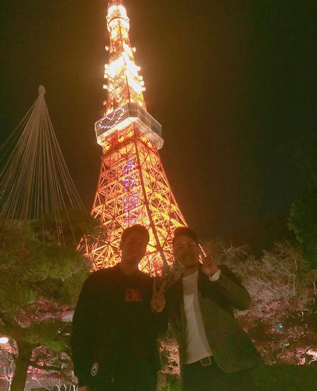 前田健太則本昂大東京タワーデート