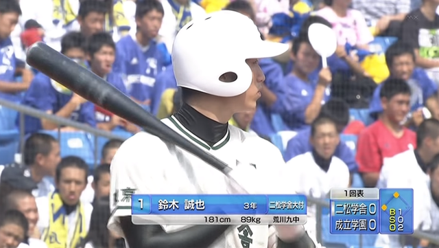 鈴木誠也高校野球投手05