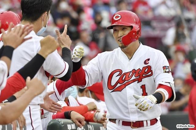 カープ鈴木誠也5試合連続25号ホームラン6年連続25本塁打達成