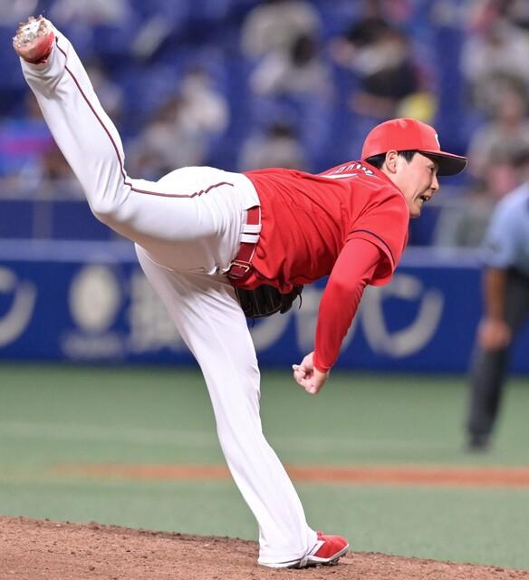 栗林「カープの9回と日本代表の9回も同じ気持ち」