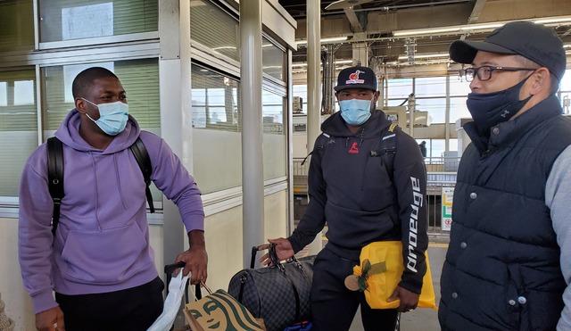 広島ピレラ帰国