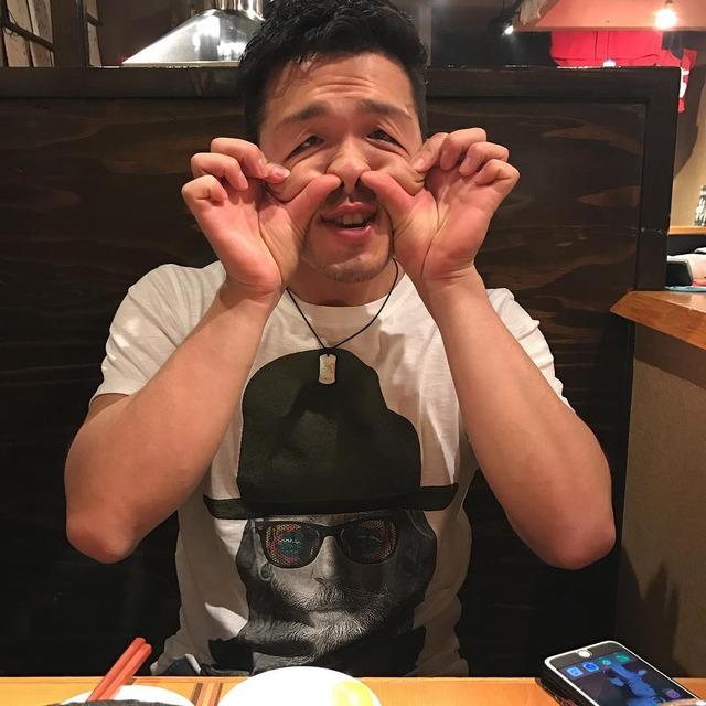 鈴木誠也_変顔_野間_撮影