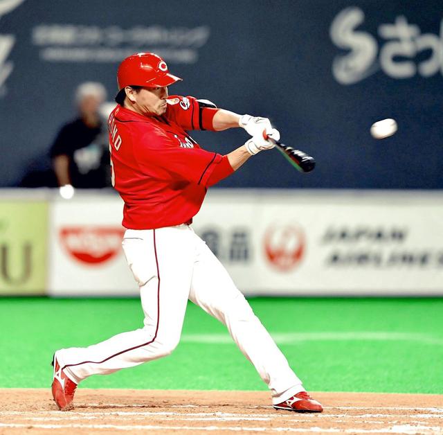 カープ長野久義1番打者