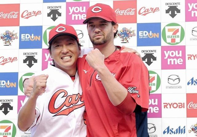 長野久義とジョンソン