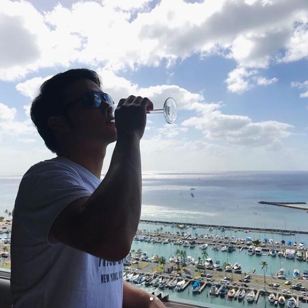 薮田和樹優勝旅行ハワイ