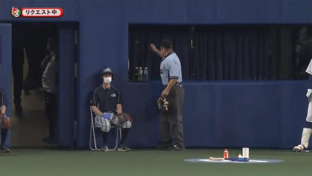 審判_リクエスト_マイク_お茶