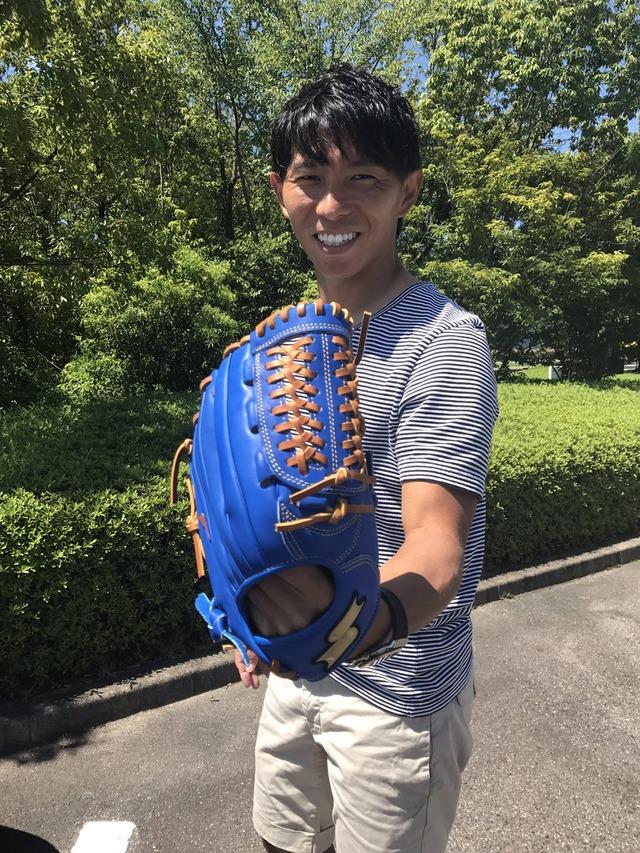 佐藤寿人中日始球式グローブ