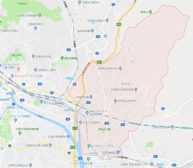 府中町地図