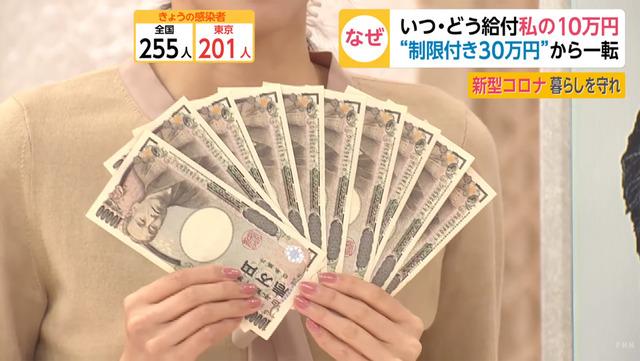 10万円給付金_税金