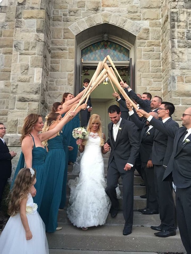 ジョンソン結婚式