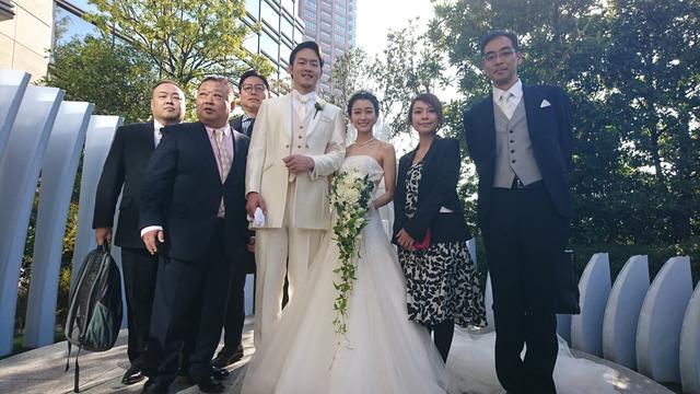薮田和樹結婚式