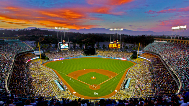 dodger-stadium-sunset