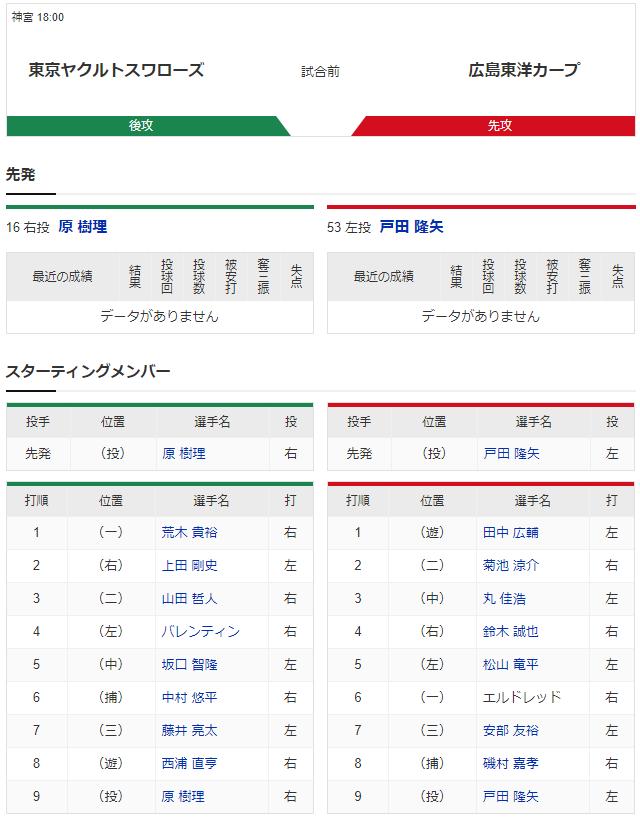 七夕の奇跡_スポナビ実況_再現