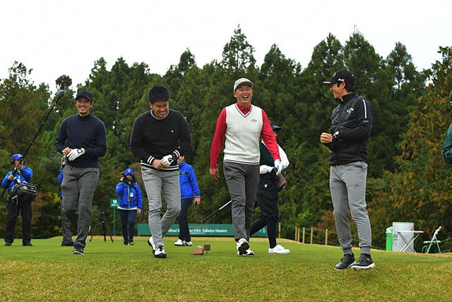 新井さん武井壮チャリティーゴルフ (1)