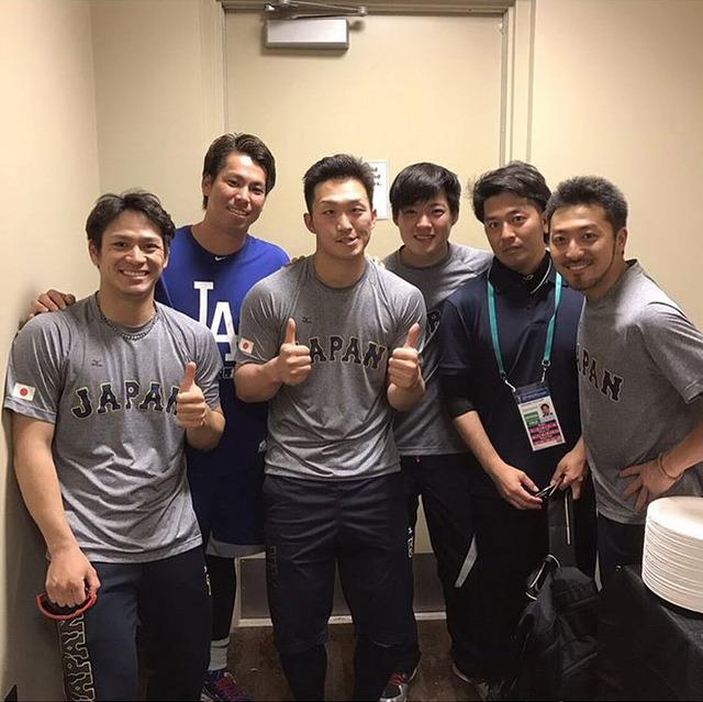マエケン侍ジャパン広島カープ再会
