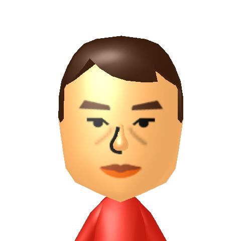 新井さんMii似顔絵