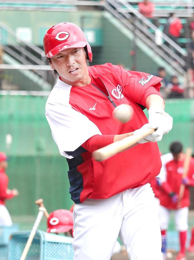 長野久義4番レフト