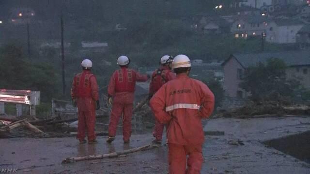 広島市などで救助要請相次ぐ