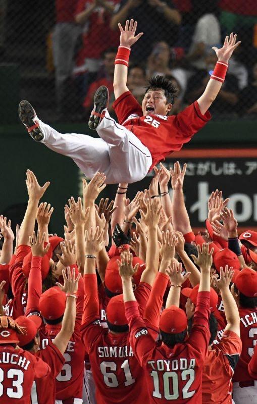 広島カープ25年ぶり優勝