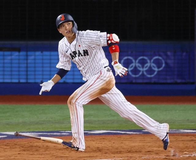 侍ジャパン坂本勇人同点タイムリー2塁打
