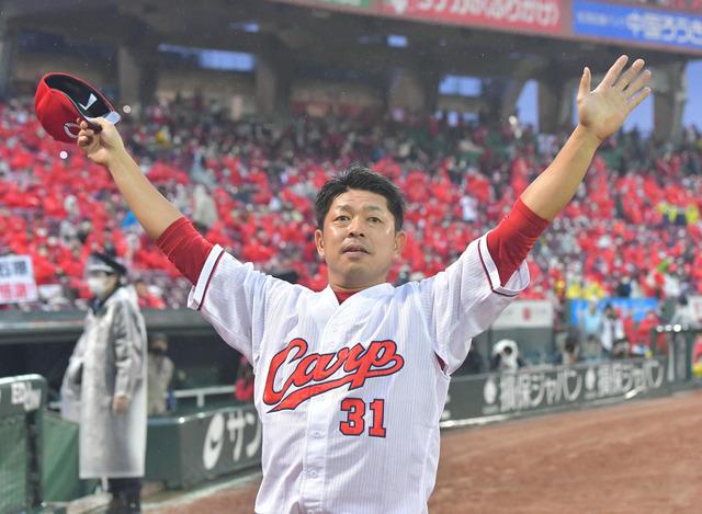 カープ石原慶幸、引退後は広島テレビ解説者