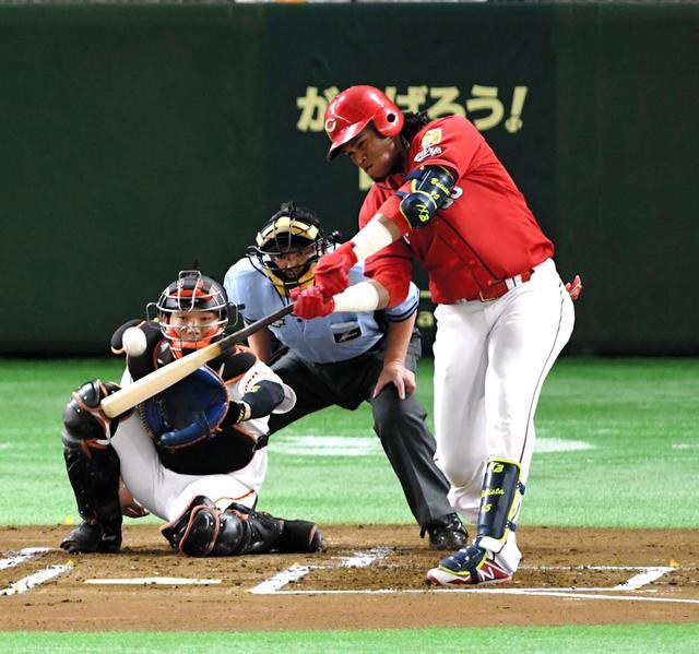 広島バティスタ本塁打率