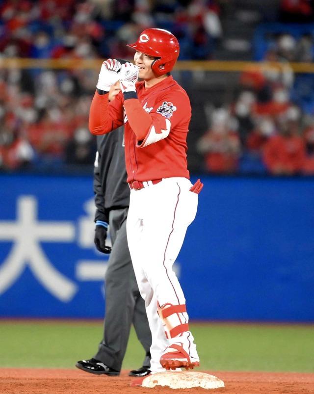 カープ鈴木誠也『5年連続3割25本塁打』達成