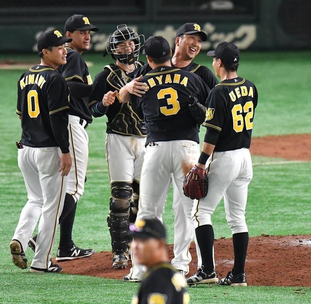阪神大山V弾で巨人に逆転勝利!←カープファンの感想