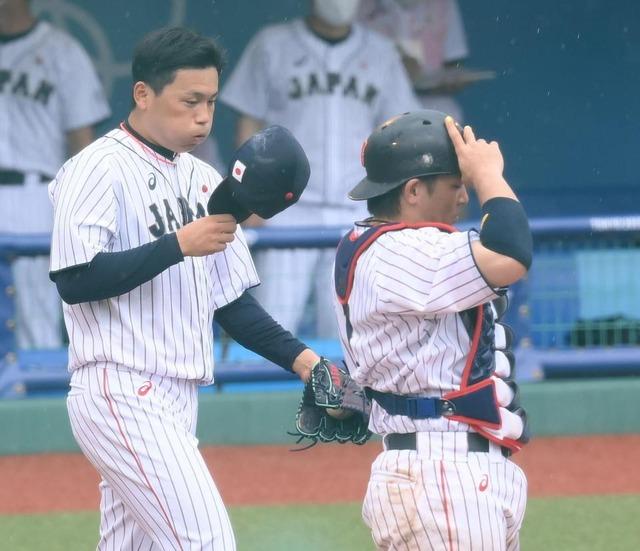 カープ栗林、侍ジャパンでプロ初勝利
