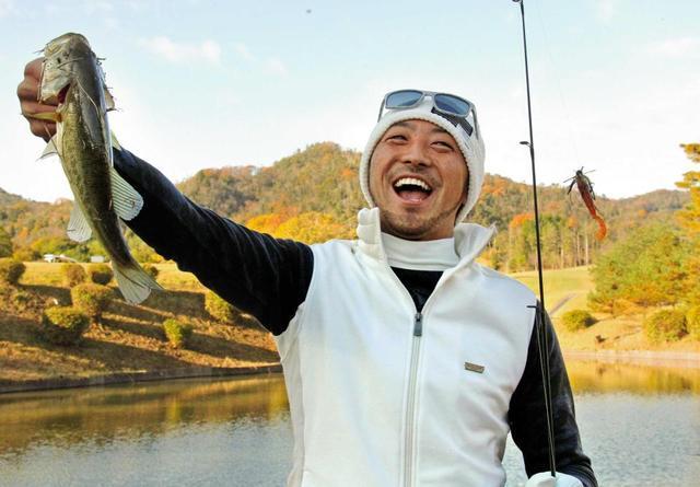菊池涼介_ゴルフ場_魚釣り