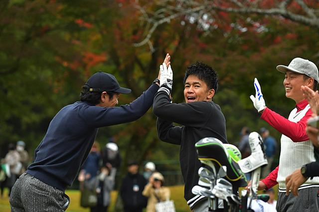 新井さん武井壮チャリティーゴルフ (2)