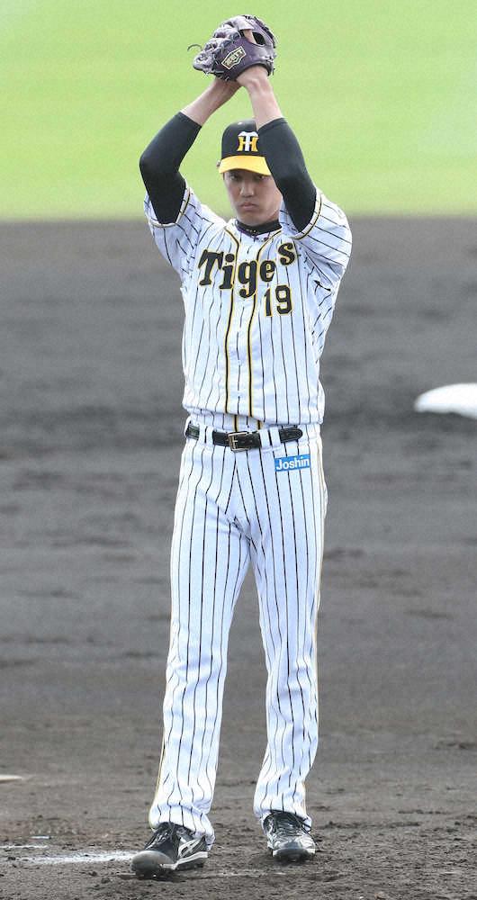 カープvs阪神の練習試合で藤浪と対決