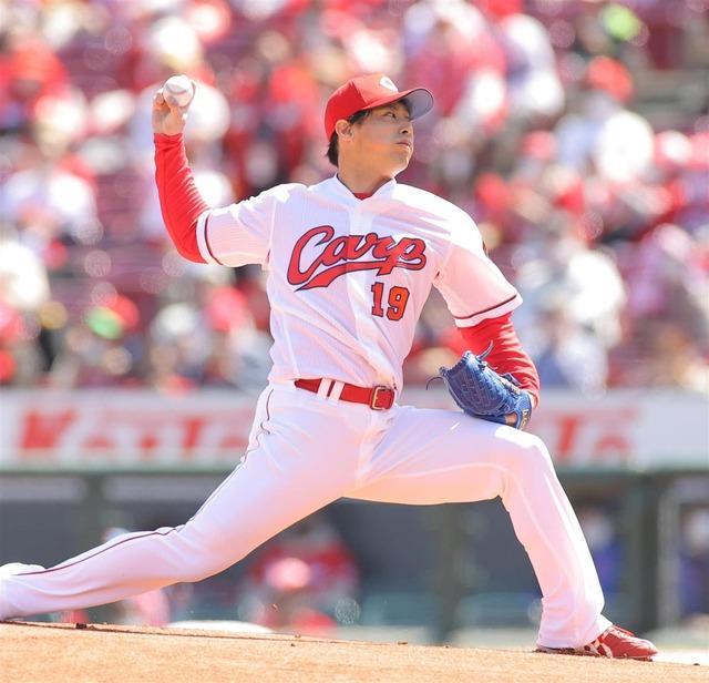 カープ野村祐輔がデビューから188試合連続先発のプロ野球新記録樹立