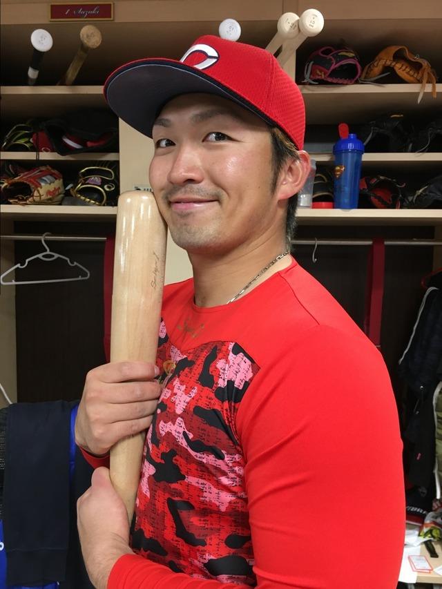 鈴木誠也憧れの松坂大輔と対戦