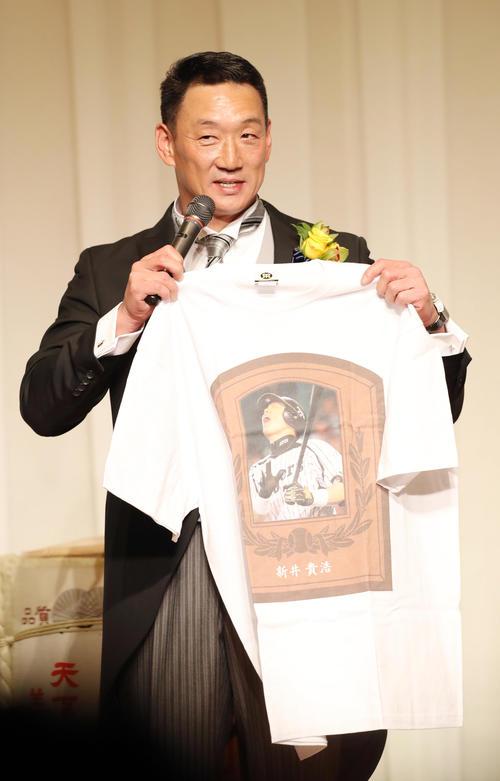金本新井さんイジりTシャツ新作