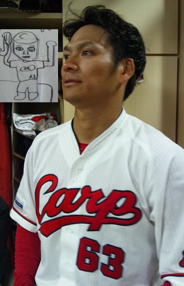 田中_カープ_Tシャツ