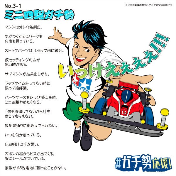 ミニ四駆ガチ勢