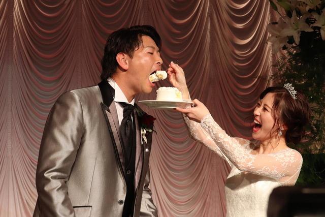大瀬良大地浅田真由結婚披露宴 (1)
